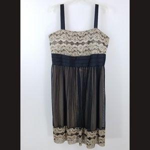 Richards Dress 22W Lace Sequin Empire